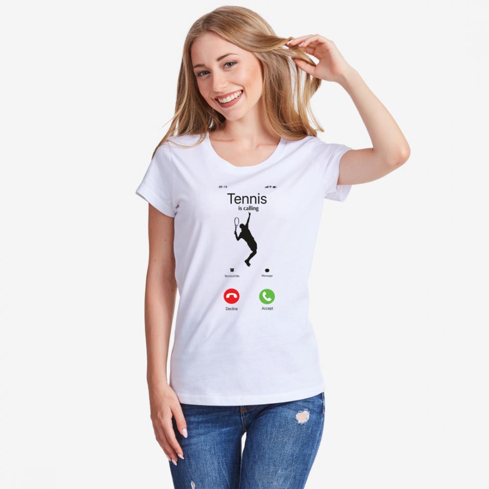 Дамска тениска Tennis is calling