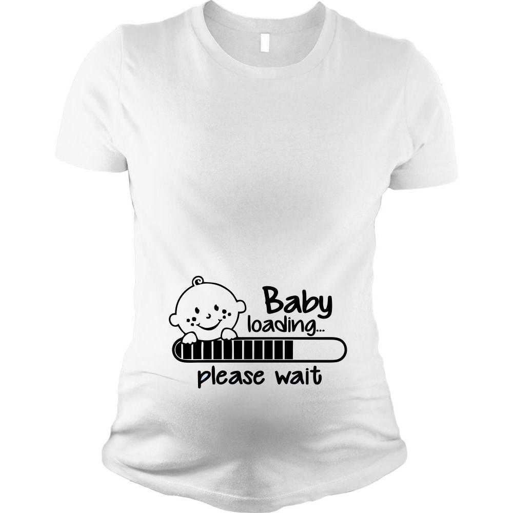 Дамска тениска за бременни Baby is Coming