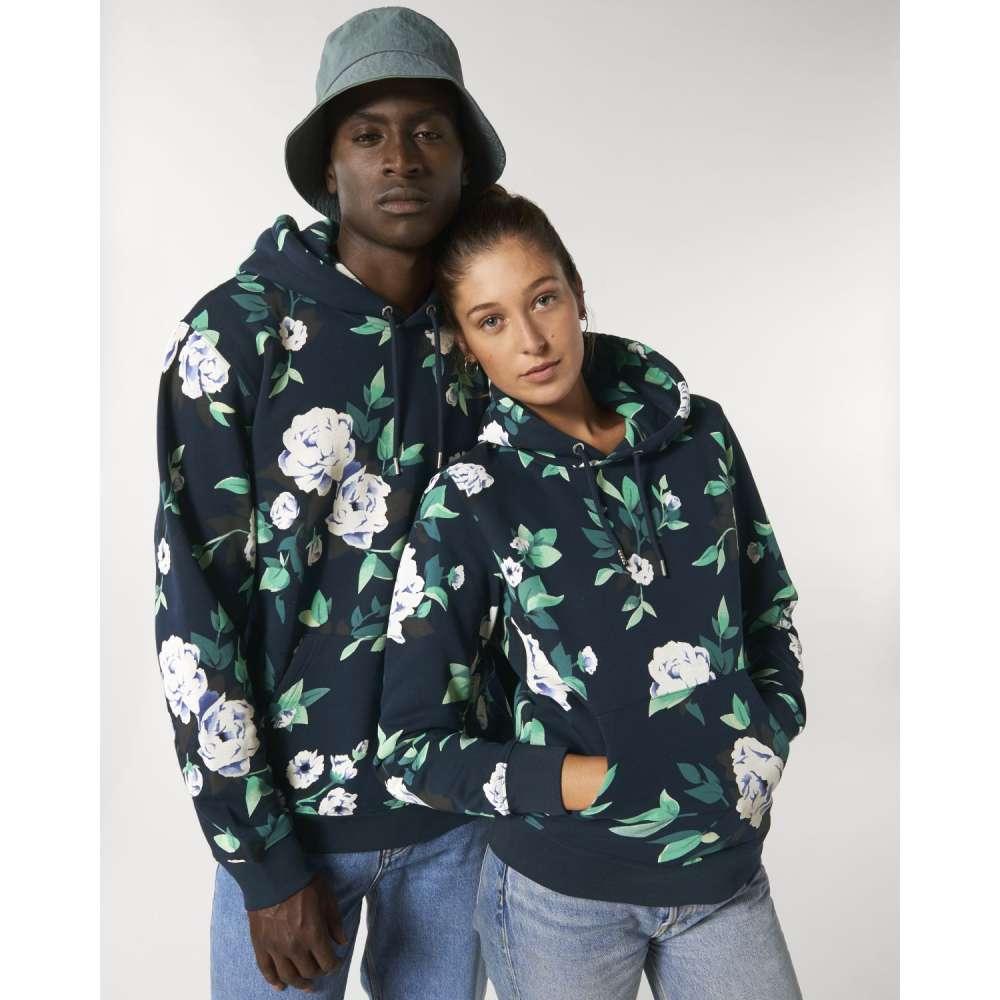 Комплект суитчъри за двойки с флорални мотиви