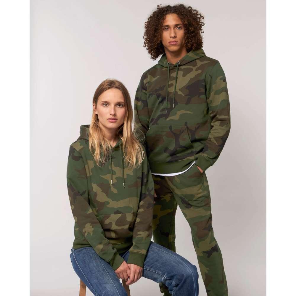 Комплект суитчъри за двойки в камуфлажен десен