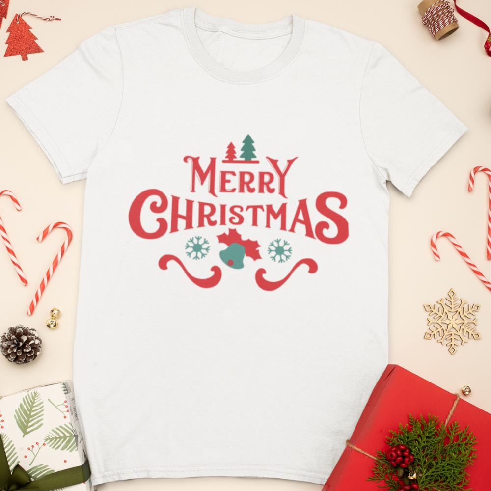Детска коледна тениска Merry Christmas