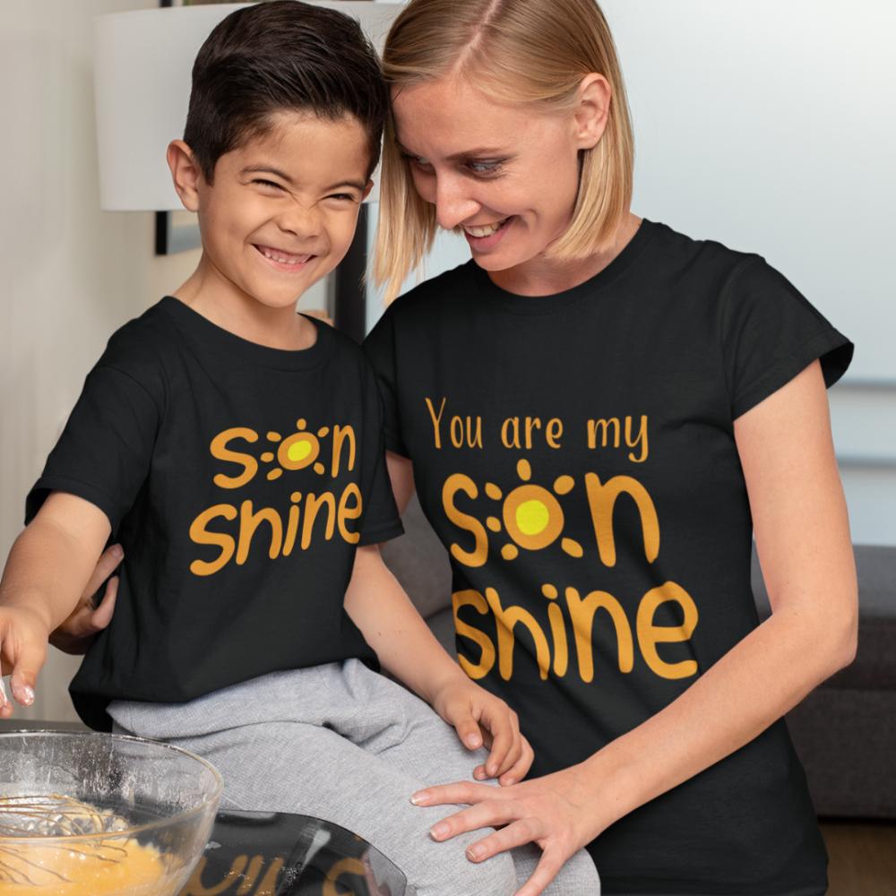 Тениски за майка и син Sonshine