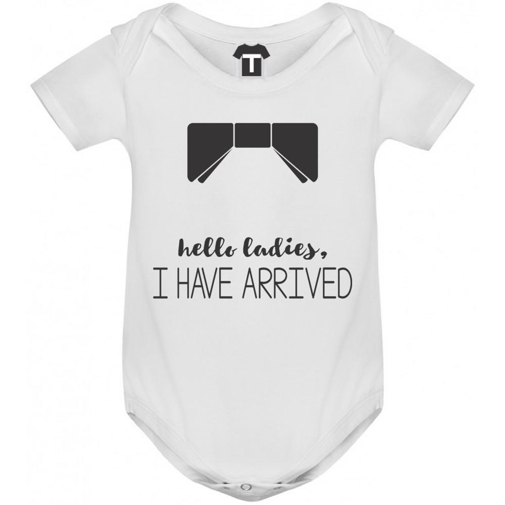 Бебешко боди Hello ladies