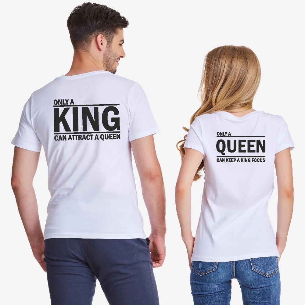 Комплект бели за двойки ONLY KING