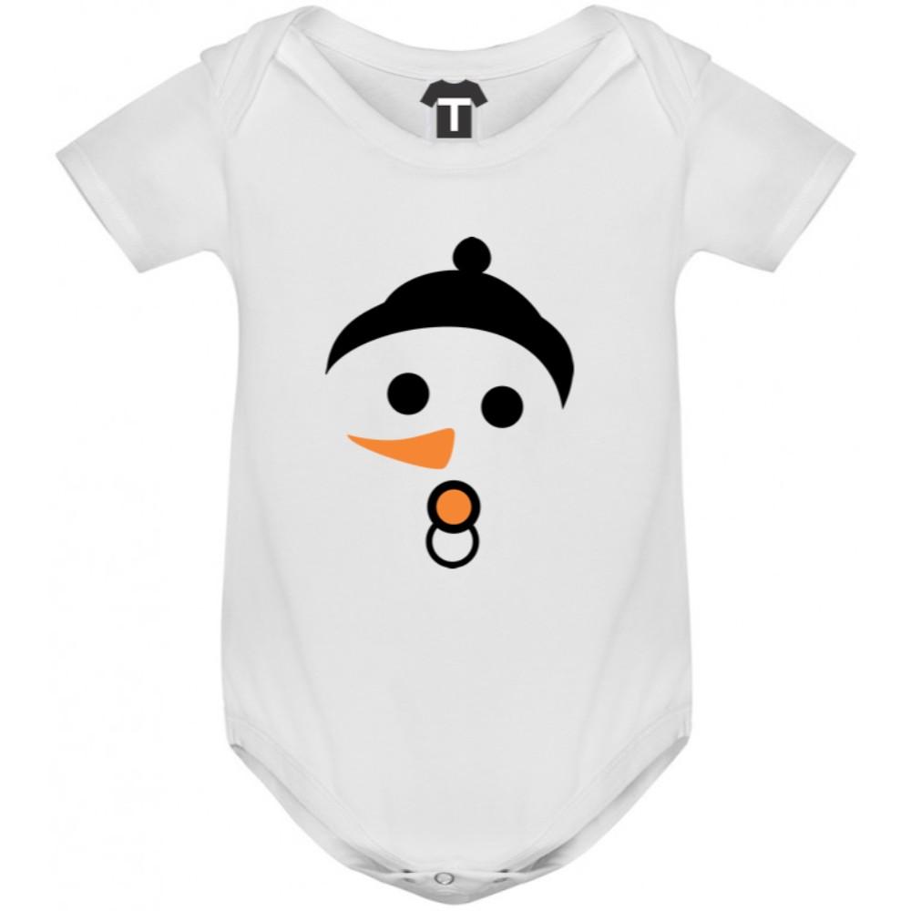 Бебешко боди в различни цветове Snow Baby