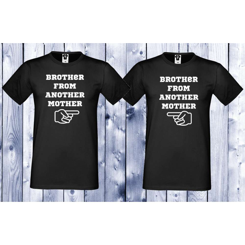 Комплект черни тениски BROTHER FROM ANOTHER MOTHER