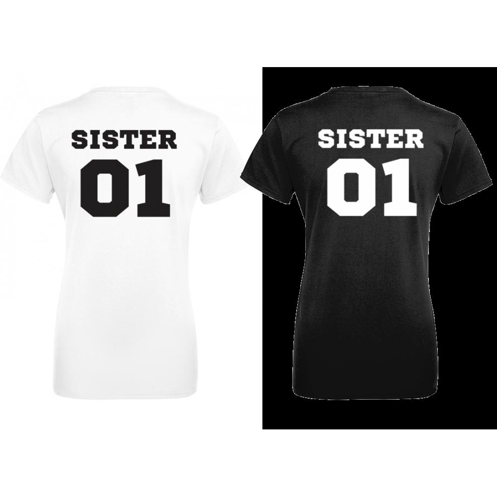 Комплект тениски с щампа SISTERS 01