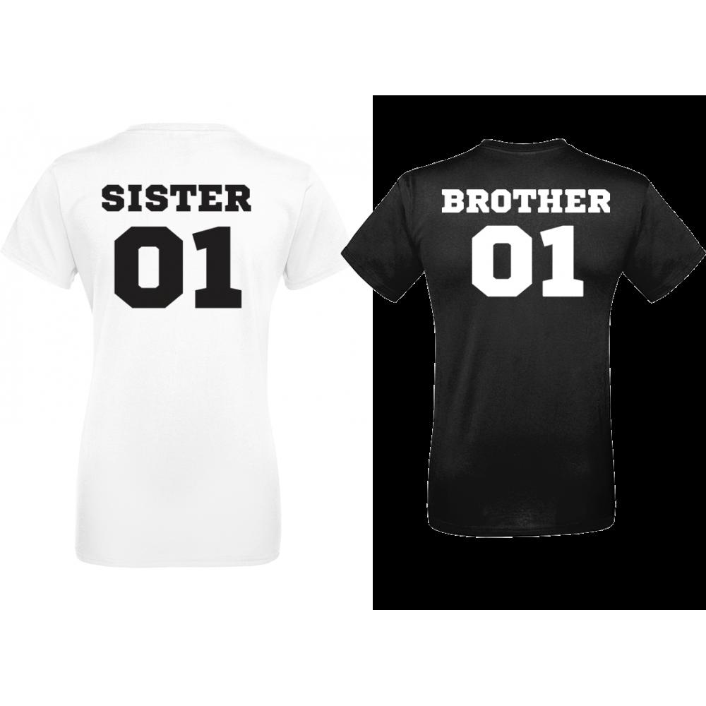 Комплект тениски SISTER & BROTHER 01