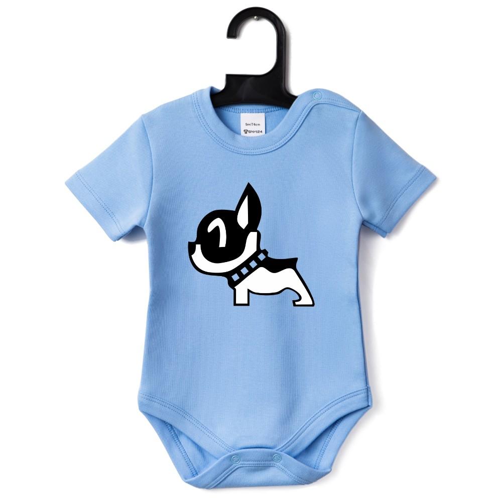Бебешко боди в различни цветове Puppy
