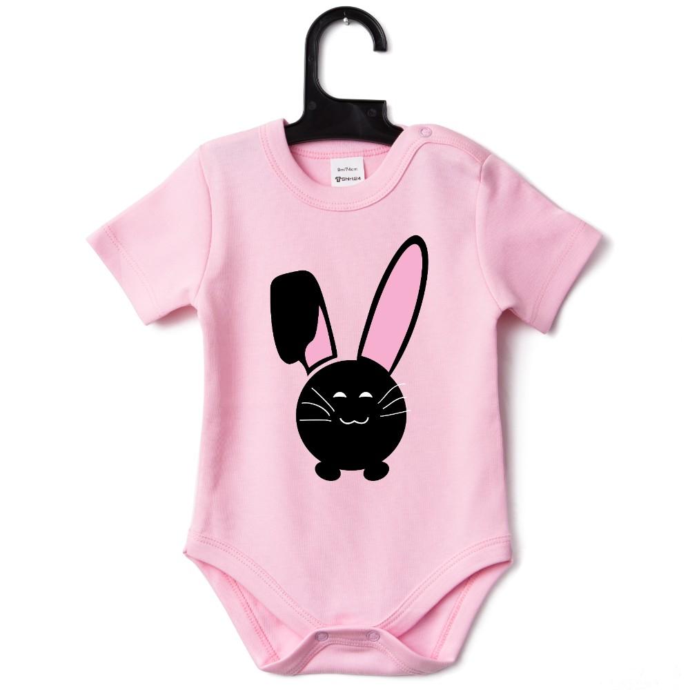 Бебешко боди в различни цветове Bunny Smile