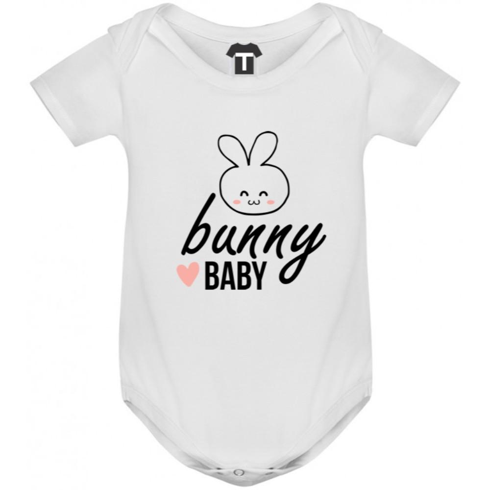 Бебешко боди в различни цветове Bunny Baby