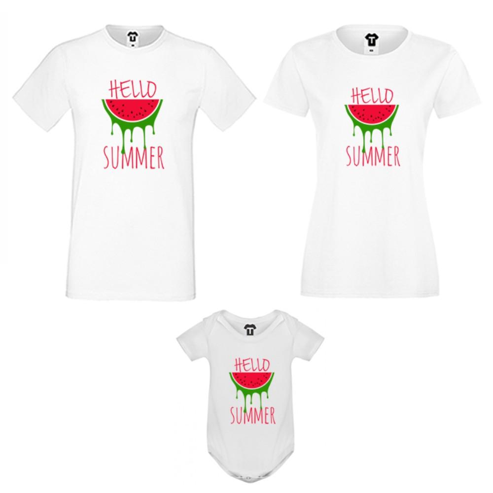 Семеен комплект Hello Summer