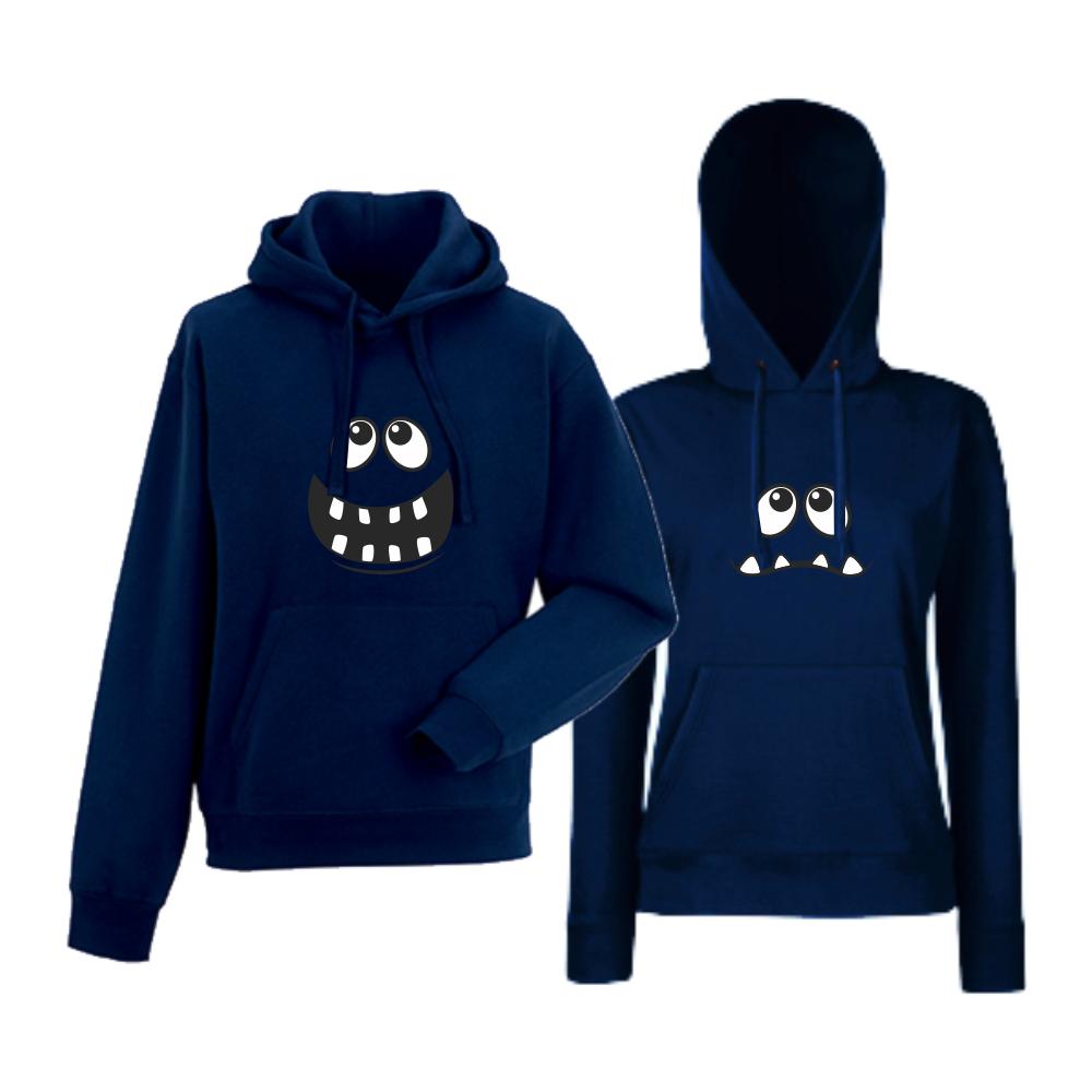 Комплект тъмно-сини суитчери Big Smile