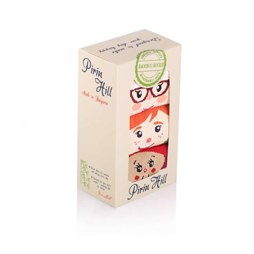 Kоледни чорапи от бамбук BOX 3