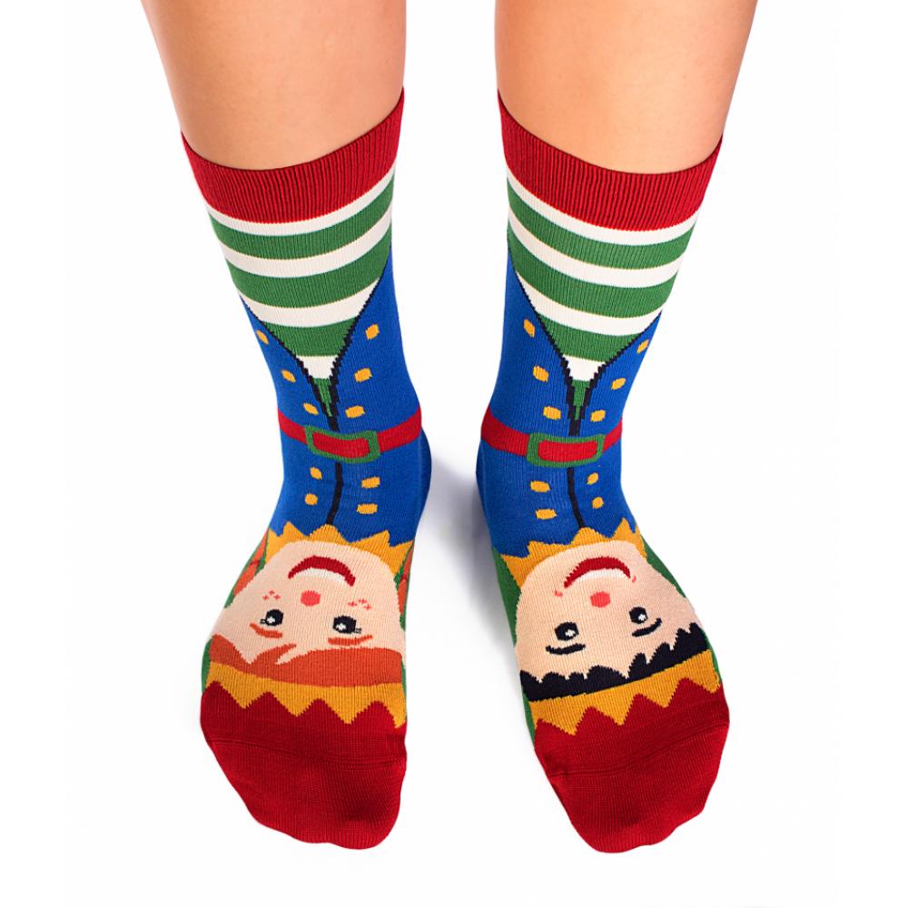 Kоледни чорапи от бамбук Mrs & Mr Elves