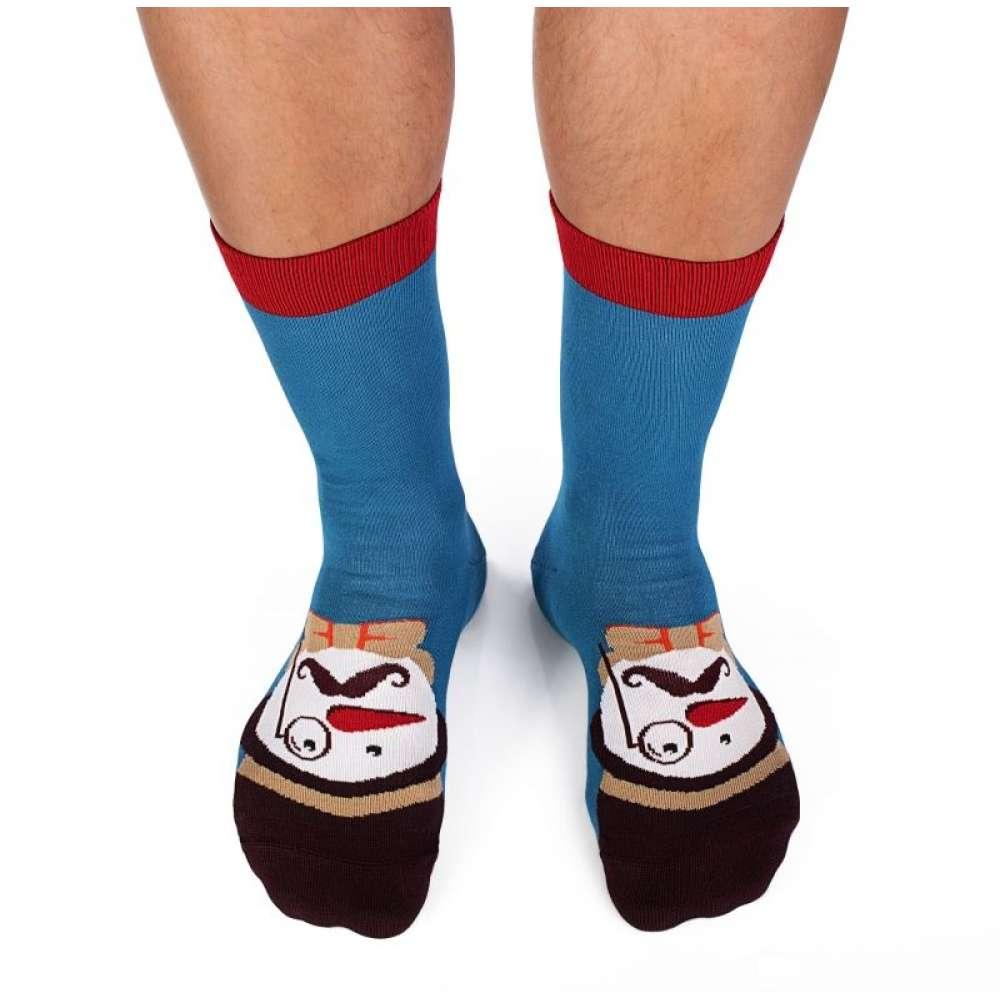Kоледни чорапи от бамбук Snowman