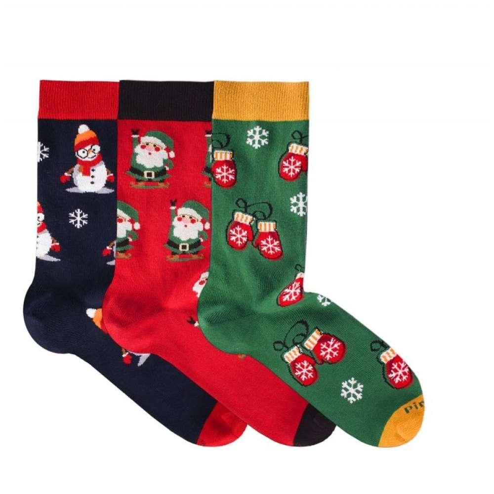 Kоледни чорапи от пениран памук BOX 3