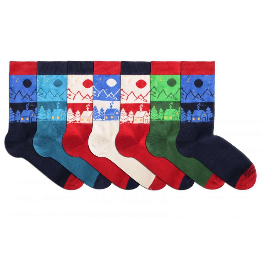 Kоледни чорапи от пениран памук BOX 7