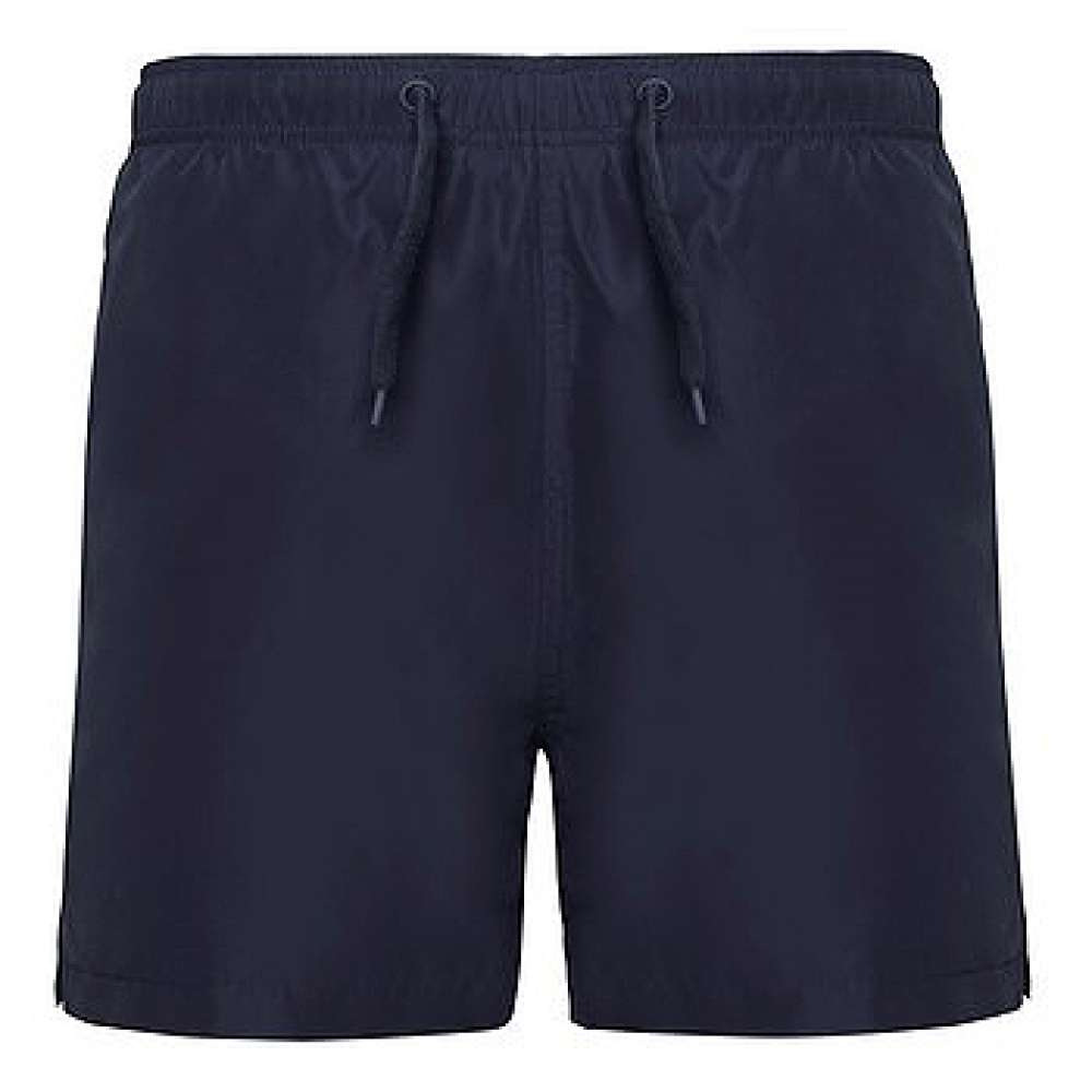 Къси панталони за плуване и спорт в тъмно-син цвят