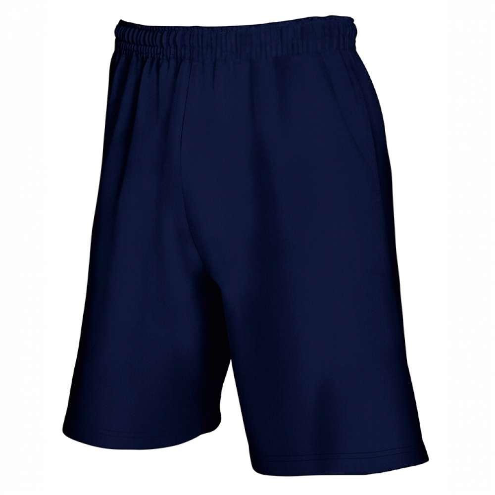 Къси спортни панталони в тъмно-синьо