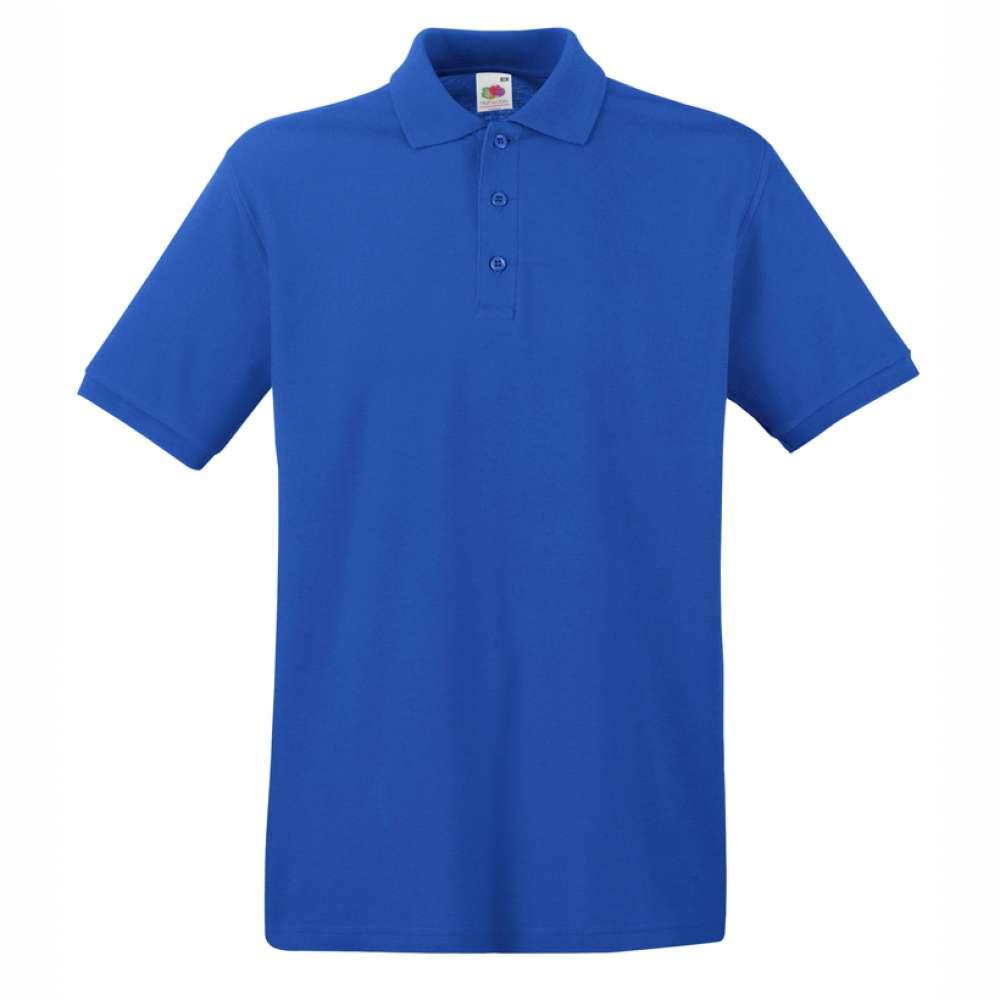 Мъжка поло тениска от 100% памук в синьо
