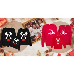 Коледни семейни комплекти тениски и блузи - перфектният подарък